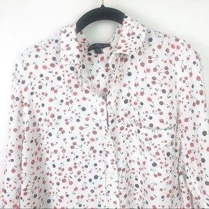 Velvet Heart Cherry Button Down Shirt